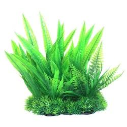 Plastväxt Narrow green 21 cm