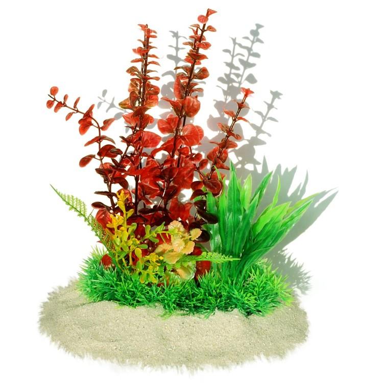 Plastväxt Bacopa red 26 cm