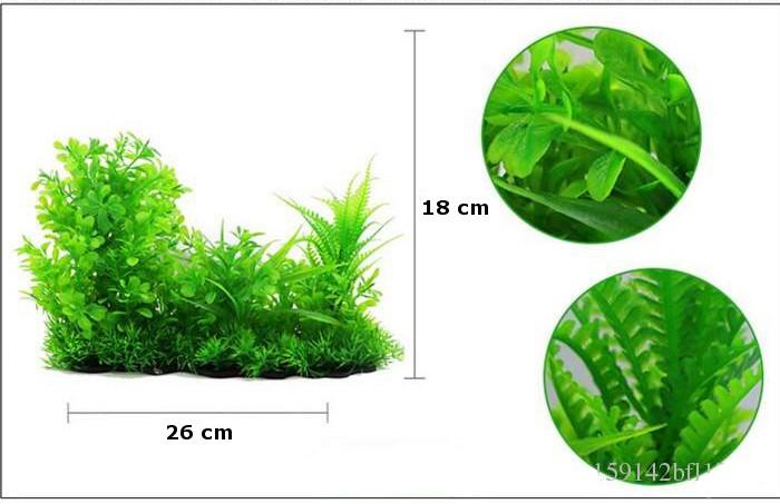 Plastväxt Lush green 18 cm A