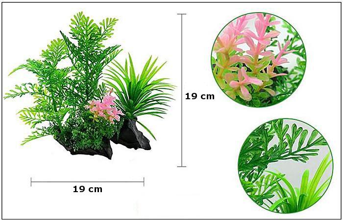 Plastväxt på rot Difformis 19 cm A