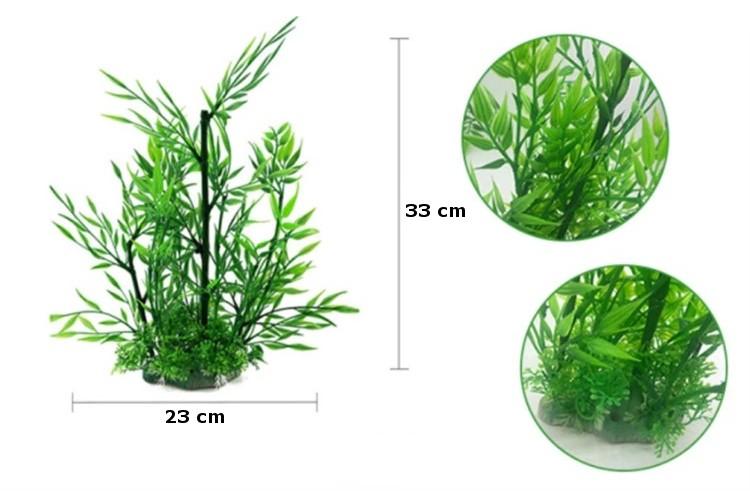 Plastväxt Bambu 33 cm A