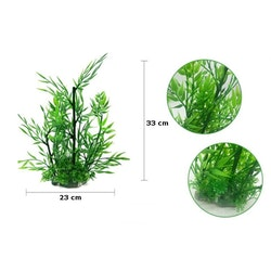 Plastväxt Bambu 33 cm