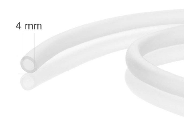 Luftslang silikon 4/6mm - Transparent B