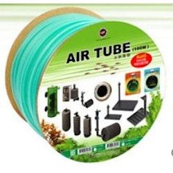 Luftslang silikon 4/6mm - gröntonad