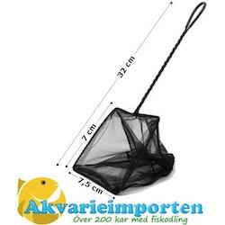 """Akvariehåv med 3"""" öppning - Svart"""