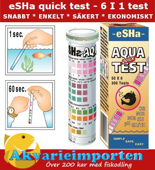 eSHa Quick Test - 6 in 1 A