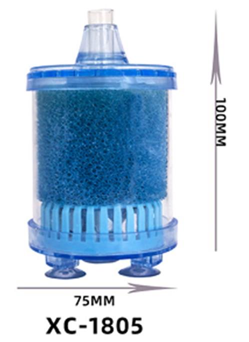 Box filter med filtersvamp och pimpsten - liten A