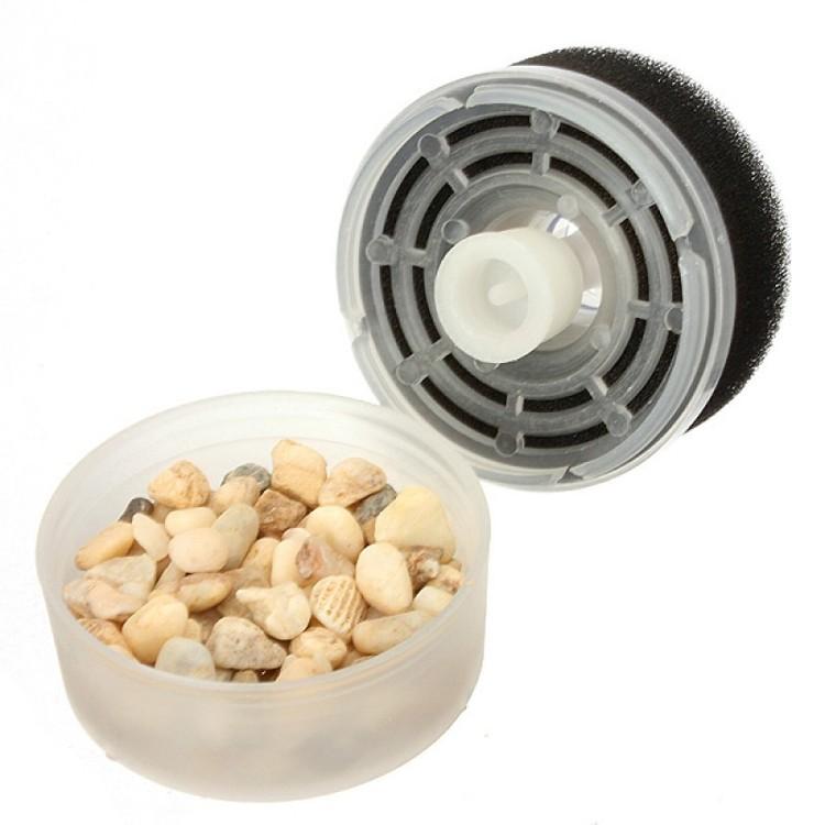 Box filter med filtersvamp och pimpsten - mini F