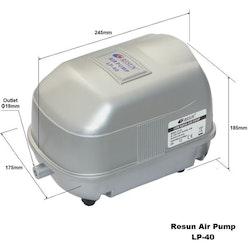 LP 40 - Luftpump från Resun 3000 l/t