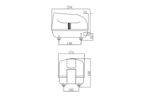 LP 40 - Luftpump från Resun 3000 l/t C