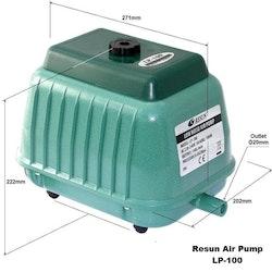 LP 100 - Luftpump från Resun 8400 l/t