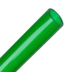Pvc luftslang 4/6 mm - gröntonad