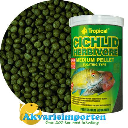 HERBIVORE - medium pellet 1000 ml A