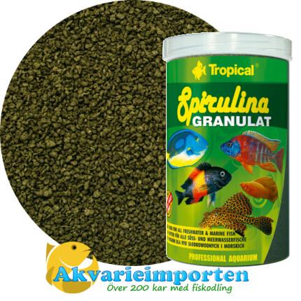 Spirulina Granulat (6%) 1000 ml A