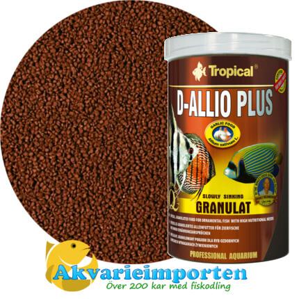 D-Allio Plus Granulat (30% vitlök) 1000 ml A