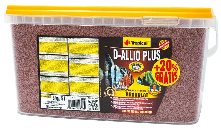 D-Allio Plus Granulat (30% vitlök) 10 liter