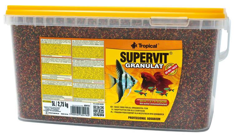 Supervit Granulat 5 liter