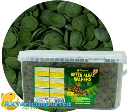 Green algae wafers 5 liter A