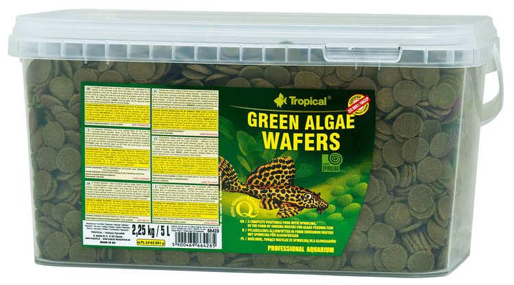 Green algae wafers 5 liter