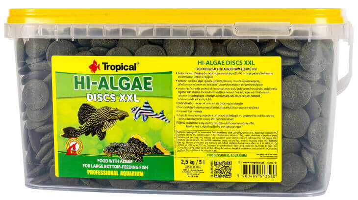 Hi-Algae Discs XXL 5 liter