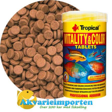 Vitality & Color Tablets A 250 ml A