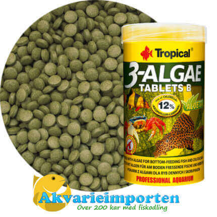 3-Algae Tablets B 250 ml A