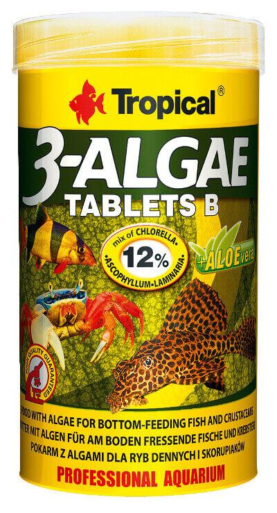 3-Algae Tablets B 250 ml