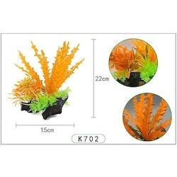 Plastväxt på rot Cryptocoryne orange 21 cm