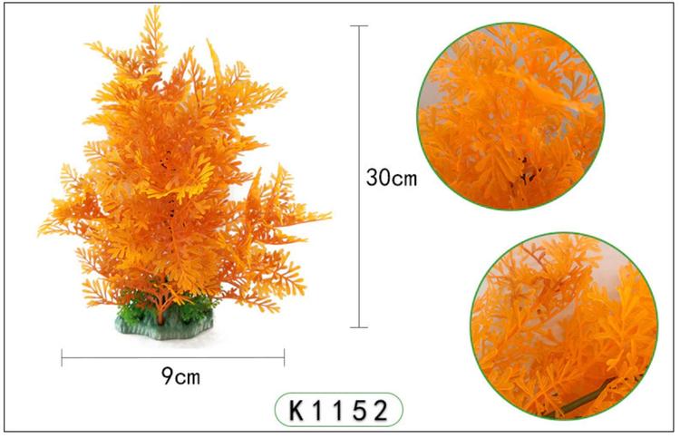 Plastväxt Difformis orange 29 cm