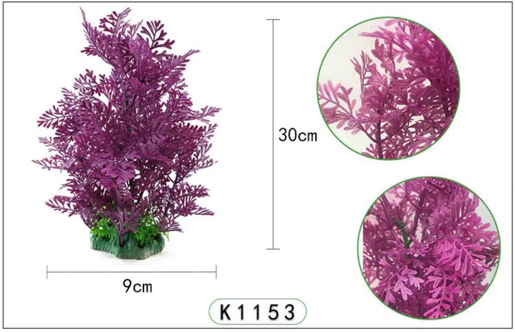 Plastväxt Difformis lila 29 cm A