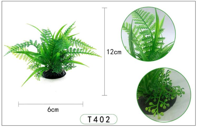 Plastväxt Fern 13 cm A