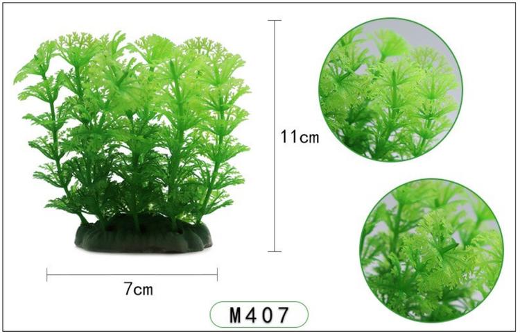 Plastväxt Cabomba grön 10 cm A