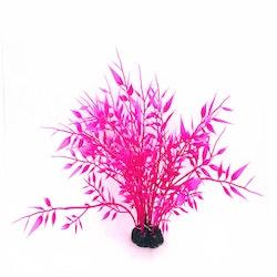Plastväxt Bambu pink 22 cm