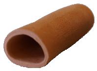 Malgrotta med stängd ände 15 cm - Terracotta - 1 st. A