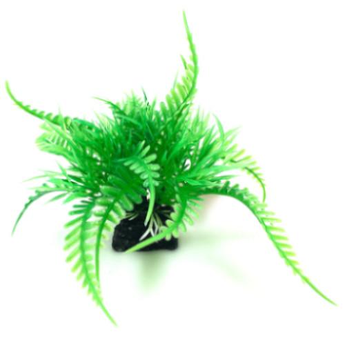 Plastväxt till akvarium Fern 6 cm
