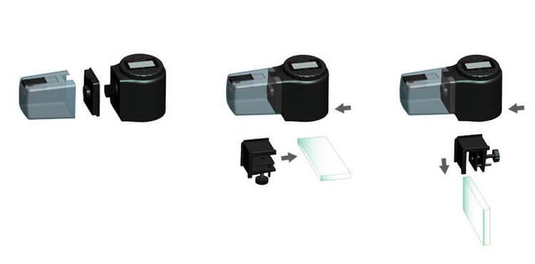 Digital foderautomat - 135ml - Svart G