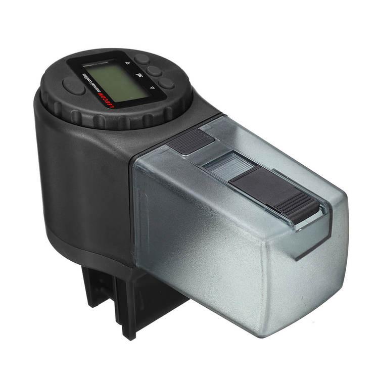 Digital foderautomat - 135ml - Svart C