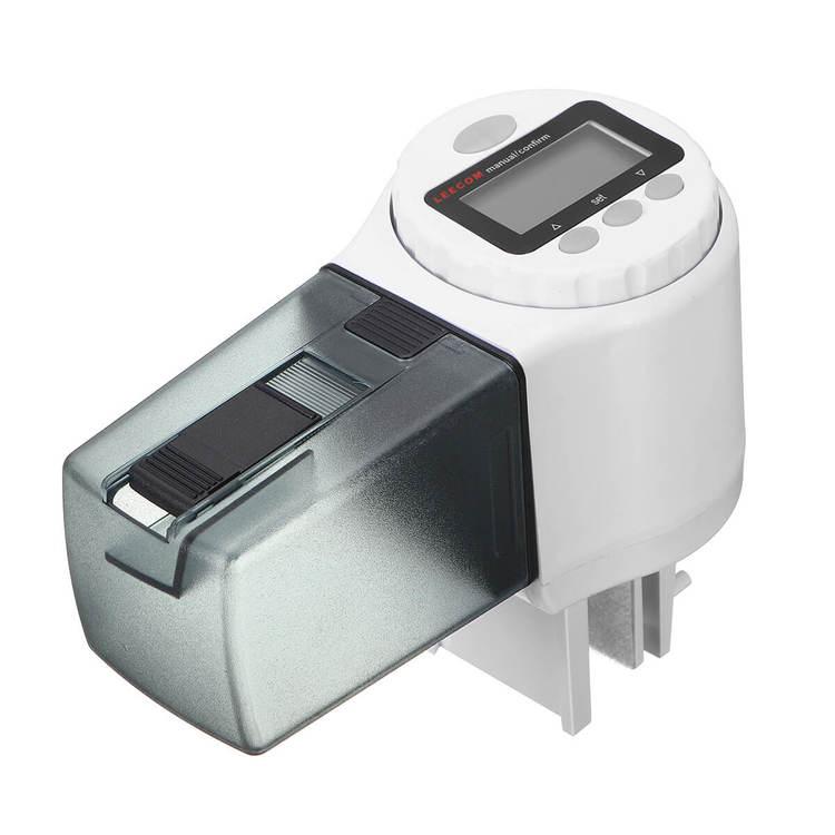 Digital foderautomat - 135ml - Vit G