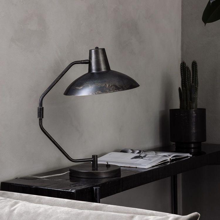 House Doctor Bordslampa, Desk, Antik brun