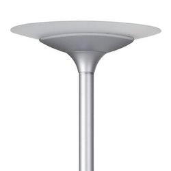 Golvlampa UNILUX Variaglass LED Grå