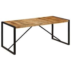 Matbord massivt grovt mangoträ 180 cm
