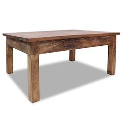 Soffbord i massivt återvunnet trä 98x73x45 cm
