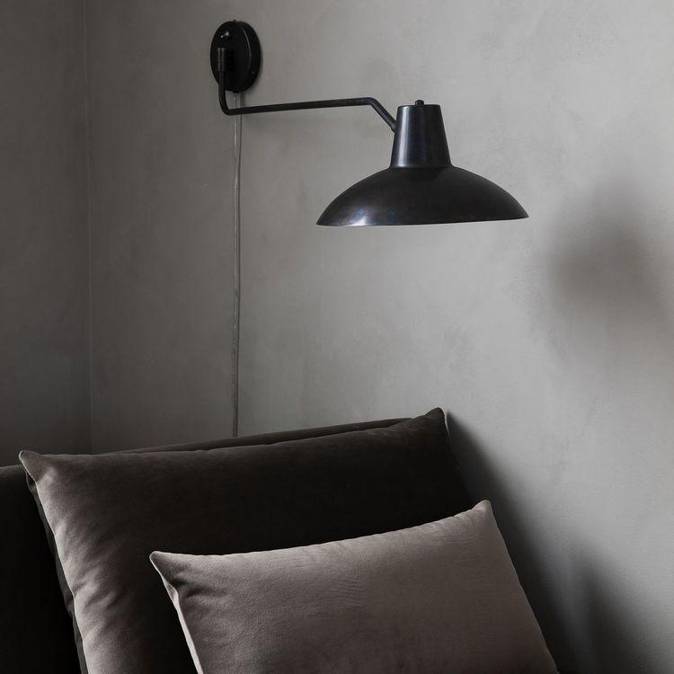 House Doctor Vägglampa, Desk, Antik brun