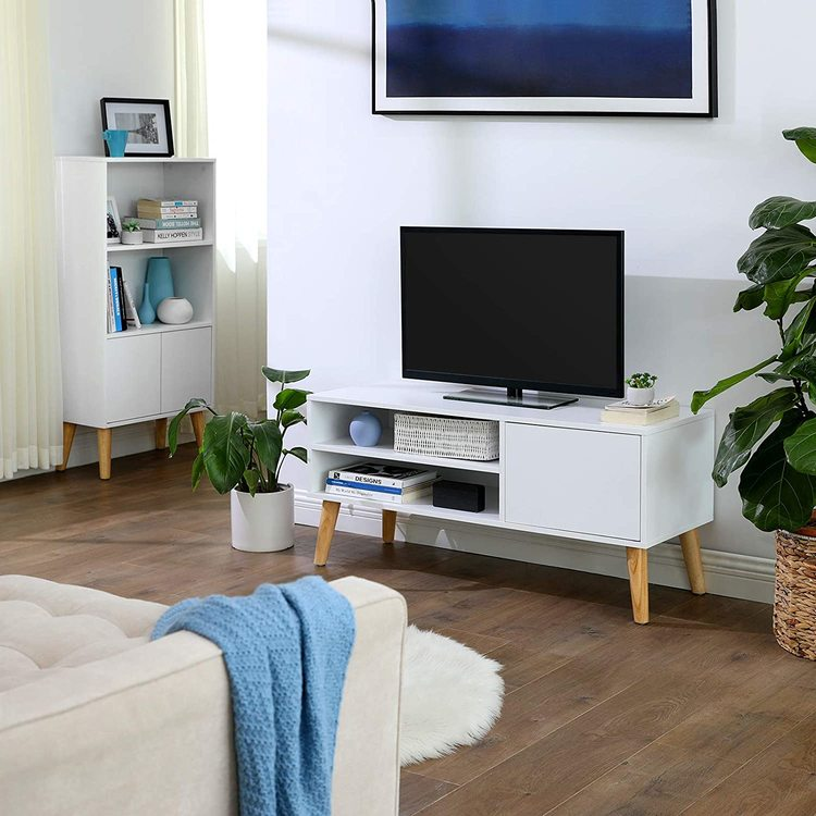 VASAGLE Scandinavian Tv Bänk