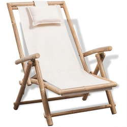 Däckstol bambu