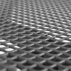 Cafébord 60x60x70 cm stålnät