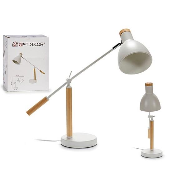 Skrivbordslampa Flexo Vit