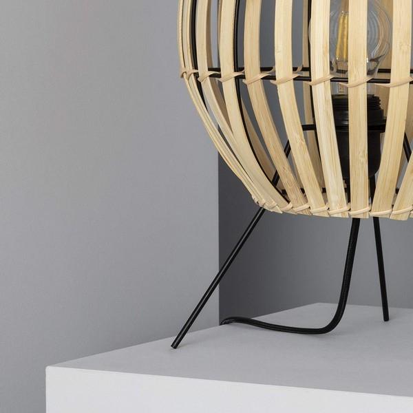 Bordslampa Ledkia Atamach Bambu