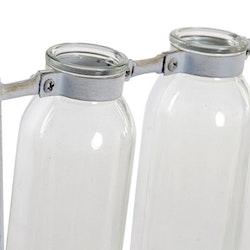 Vas Metall Glas Vintage