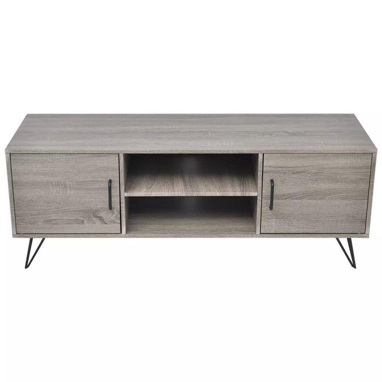 TV-bänk 120x40x45 cm grå